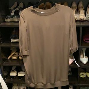 VINCE NWT Olive Blouse